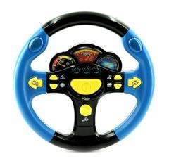 """Детская развивающая игрушка музыкальный руль """"Я тоже рулю"""" play smart (Автошка)"""